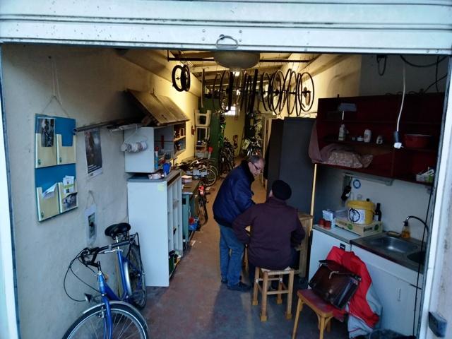 l'intérieur de notre atelier