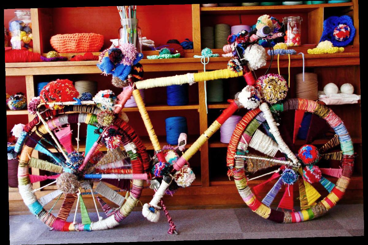 Vélo trico-coloré